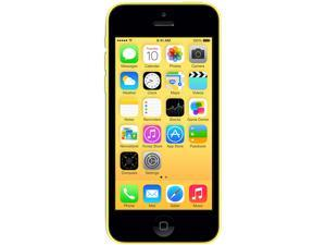 Apple iPhone 5C 32GB MF130LL/A Yellow 3G 4G LTE Dual-Core 1.3GHz Unlocked GSM Cell Phone (Factory Unlocked)