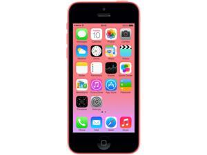 Apple iPhone 5C 32GB MF133LL/A Pink 3G 4G LTE Dual-Core 1.3GHz Unlocked GSM Cell Phone