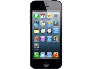 Apple iPhone 5 Black 3G 4G LTE 16GB Factory Unlocked GSM Certified Pre-Owned Phone