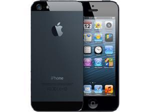 Apple iPhone 5 MD654LL/A Black 4G LTE 16GB Verizon & GSM Unlocked 4G Data Wifi Camera Cell Phone, Grade B