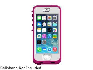Apple iPhone 5s Gray 16GB Unlocked GSM Phone + LifeProof Nuud Pink/Clear