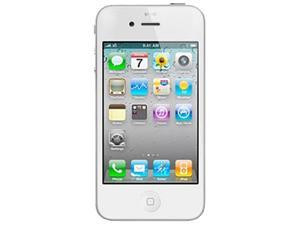 Apple iPhone 4S MD281LL/A-R White 3rd Party Refurbished / Grade A Unlocked Cell Phone