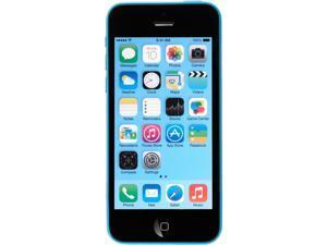 Apple iPhone 5c 8GB 4G LTE Blue Verizon Cell Phone with 1GB RAM