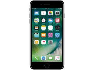 "Apple iPhone 7 PLUS 256GB 4G LTE Jet Black Unlocked Cell Phone 5.5"" 2GB RAM"