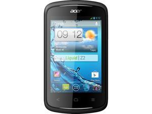 Acer Liquid Z2 DUO Z120 Black 1.0GHz Unlocked GSM Dual-SIM Android Cell Phone