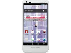 SHARP Aquos Zeta SH-02E White Unlocked GSM Quad-Core Phone w/ 16.3MP Camera