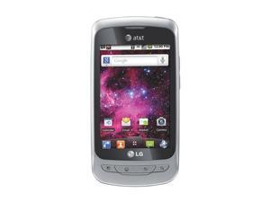 LG Thrive P506 Silver 3G Unlocked GSM Android Cell Phone