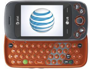 LG Rumour Plus GW370 Orange 3G Slider Touch Screen QWERTY Keyboard GPS FM Radio Camera Bluetooth Unlocked GSM Cell Phone
