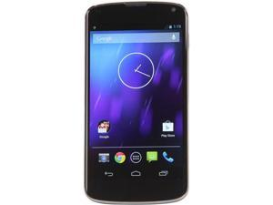LG Nexus 4 E960 Black 3G Quad-Core 1.5GHz 8GB Unlocked Cell Phone