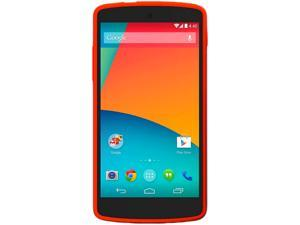 LG Google Nexus 5 D820 Red 3G 4G LTE Quad-Core 2.3 GHz 16GB Unlocked GSM Android Cell Phone