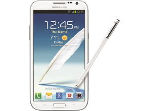 Samsung Galaxy Note 2 I317 White AT&T Unlocked GSM Quad-Core Phone Refurbished