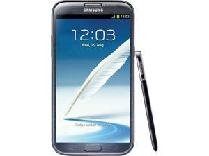 "Samsung Galaxy Note 2 I317 16GB 4G LTE AT&T Unlocked GSM Quad-Core Phone Refurbished 5.5"" 2GB RAM Titanium"