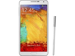 Samsung Galaxy Note 3 N9000 White Unlocked GSM Octa-Core Cell Phone Refurbished