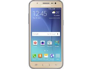 Samsung Galaxy J5 J500M Gold 8GB Unlocked GSM 4G LTE Android Cell Phone