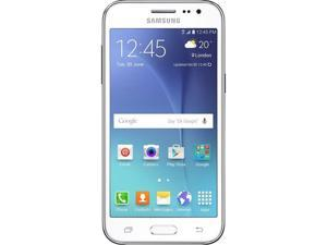 Samsung Galaxy J2 J200M White Unlocked GSM Quad-Core Android Phone