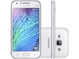 Samsung Galaxy J1 LTE J120M DUOS White Dual SIM Unlocked GSM Phone