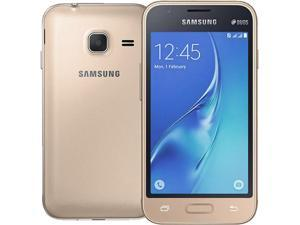 Samsung Galaxy J1 Mini J105B DUOS Gold Dual SIM Unlocked Cell Phone