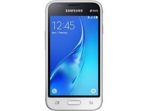 Samsung Galaxy J1 Mini J105B DUOS White Dual SIM Unlocked Cell Phone