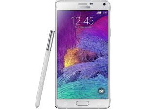 Samsung Galaxy Note 4 N910V White Verizon/GSM Unlocked Phone - B Grade Refurbished