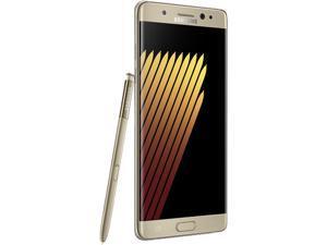 "Samsung Galaxy Note 7 N930FD Dual Sim 64GB 4G Unlocked Smartphone 5.7"" 4GB RAM, Gold color, International version - No US Warranty"