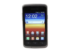 "Samsung Galaxy Xcover GT-S5690L 150 MB storage, 512 MB RAM Unlocked WaterProof Cell Phone 3.65"" Gray"