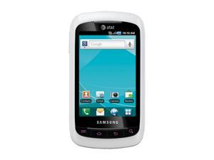 Samsung DoubleTime SGH-I857 White 3G Single-Core 800MHz Unlocked Dual Touchscreen Cell Phone