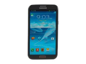 "Samsung Galaxy Note II N7100 Titanium Gray Unlocked Cell Phone w/ 5.5"" Super AMOLED Touch Screen / Bluetooth 4.0"