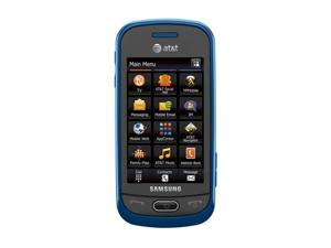 Samsung Eternity II SGH-A597 Blue 3G Unlocked Cell Phone