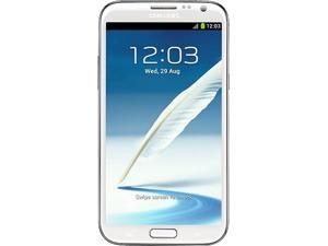 SAMSUNG Galaxy Note II SPH-L900 White 3G Sprint Authorized Cellphone