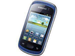 Samsung Galaxy Music Duos S6012 Blue Single-Core 850MHz Unlocked Dual SIM Cell Phone