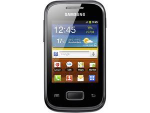 Samsung Galaxy Pocket S5300 Black Single-Core 832MHz Unlocked Cell Phone