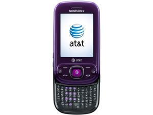 Samsung Strive SGH-A687 Purple 3G Unlocked Cell Phone