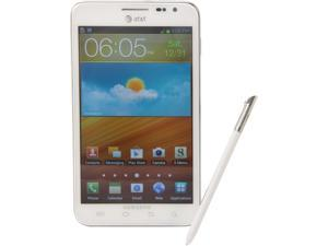 Samsung Galaxy Note SGH-I717 White 3G 4G LTE Dual-Core 1.5GHz 16GB Unlocked Cell Phone