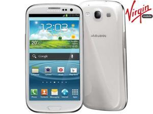Samsung Galaxy SIII S3 Virgin Mobile LTE Dual-Core No Contract 1.5GHz Android Smart Phone