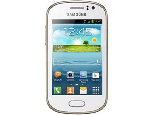 Samsung Galaxy Fame S6812 White 1.0GHz Unlocked GSM Dual-SIM Android Cell Phone