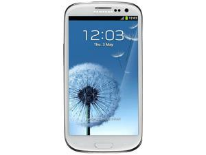 Samsung Galaxy S3 I9300 White 3G Quad-Core 1.4GHz 16GB Unlocked GSM Android Cell Phone