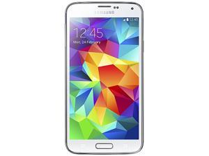 Samsung Galaxy S5 G900H Shimmering White 16GB Unlocked GSM HSPA+ Octa-Core Processor 3.2 GHz (Quad-core 1.9 GHz & Quad-core ...