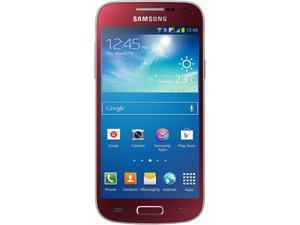 Samsung Galaxy S4 mini DUOS i9192 Red Dual-Core 1.7GHz Unlocked GSM Android Dual-SIM Phone