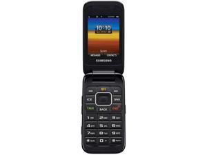 Samsung M400 Silver Sprint CDMA Flip Cell Phone