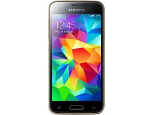 Samsung Galaxy S5 Mini G800H Gold 3G 4G HSPA+ Quad-Core 1.4GHz 16GB Unlocked GSM Android Phone