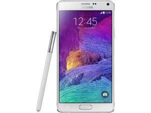 Samsung  Galaxy Note 4  N910H  White  3G 4G HSPA+ Unlocked GSM Android Cell Phone