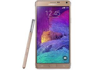 Samsung  Galaxy Note 4  N910H  Gold  3G 4G HSPA+ Unlocked GSM Android Cell Phone