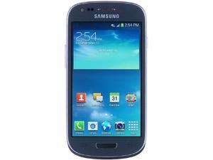 Samsung Galaxy S3 Mini G730a Blue 8GB 4G LTE AT&T Branded Unlocked GSM Cell Phone