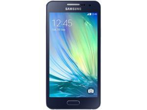 Samsung Galaxy A3 A300H DUOS Black 16GB Unlocked GSM Android Cell Phone
