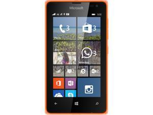 Microsoft LUMIA 532 RM-1034 CV LTAU1 BR_ORANGE HS Orange Unlocked Cell Phone