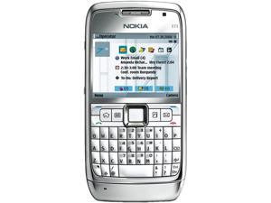 Nokia E71 White Steel Unlocked GSM Cell Phone