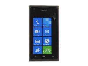 Nokia Lumia 900 Black 3G 4G LTE Single-Core 1.4GHz 16GB 4G Unlocked Cell Phone
