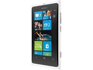 Nokia Lumia 900 White 4G Single-Core 1.4GHz 16GB Unlocked Cell Phone