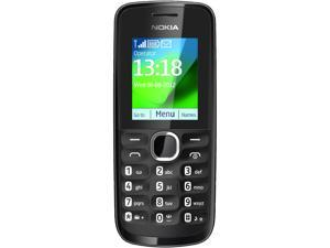 "Nokia 111 Black Unlocked GSM Bar Phone w/ FM Radio / 1.8"" Display"