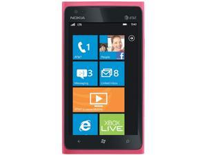 Nokia Lumia 900 Pink 3G 1.4GHz Unlocked GSM Windows 7.5 OS Cell Phone